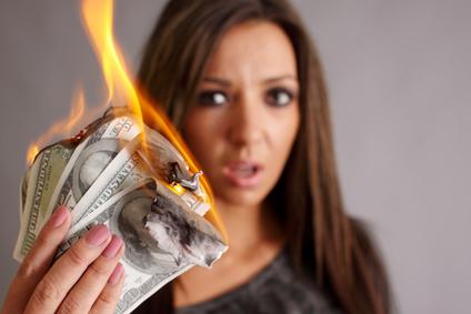 Mit Google Adwords Geld verbrennen
